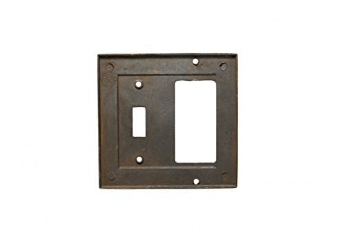 Victorian Switch Plate Toggle GFI Antique Solid Brass | Renovator's Supply by Renovator's Supply (Image #2)