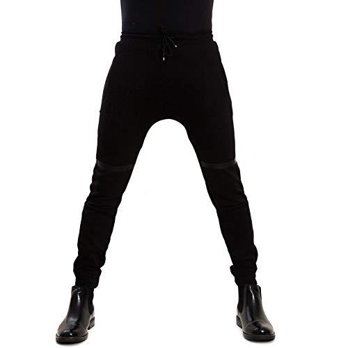 Toocool Sport Laccio Bs Nero Uomo Fitness Slim e615 Aderenti Pantaloni Tuta Fit ZwFqxrZ4