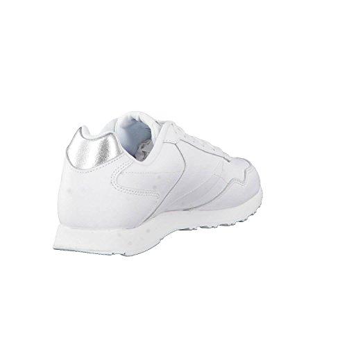Glide Silver cours de Met Reebok 000 Femme Royal LX CN0458 Blanc White Chaussures vYYEqpX