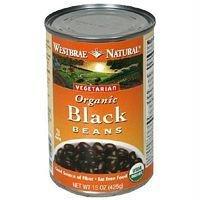 Westbrae Natural Vegetarian Organic Black Beans - 15 oz
