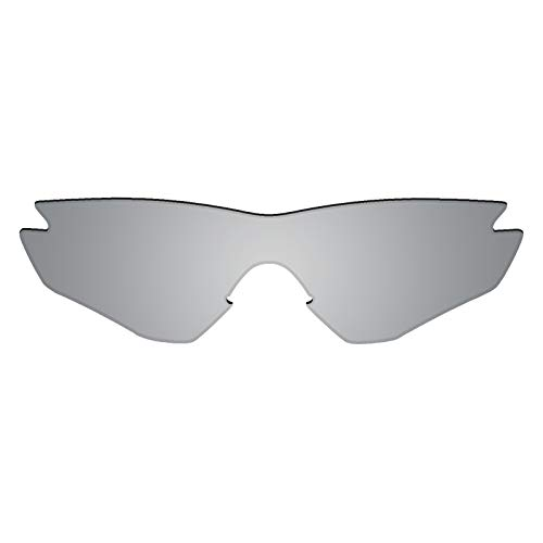 Flugger Replacement Lenses for Oakley M2 Sunglass - Polarized Titanium