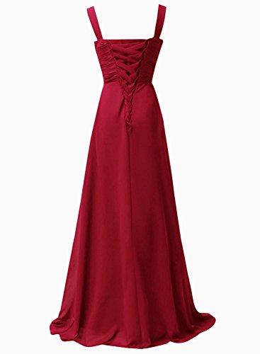 Robes De Bal Xingmeng Chérie Robes De Soirée Robe De Demoiselle D'honneur En Mousseline De Soie Longue Sarcelles