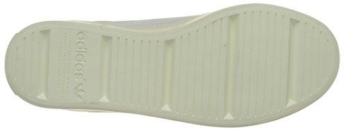 adidas Unisex-Erwachsene Court Vantage Sneakers Weiß (Footwear White/footwear White/red)