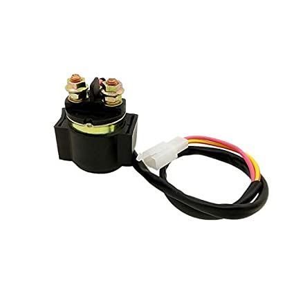 Amazon.com: Motorcycle Starter Solenoid Relay 2 Wires For ... on