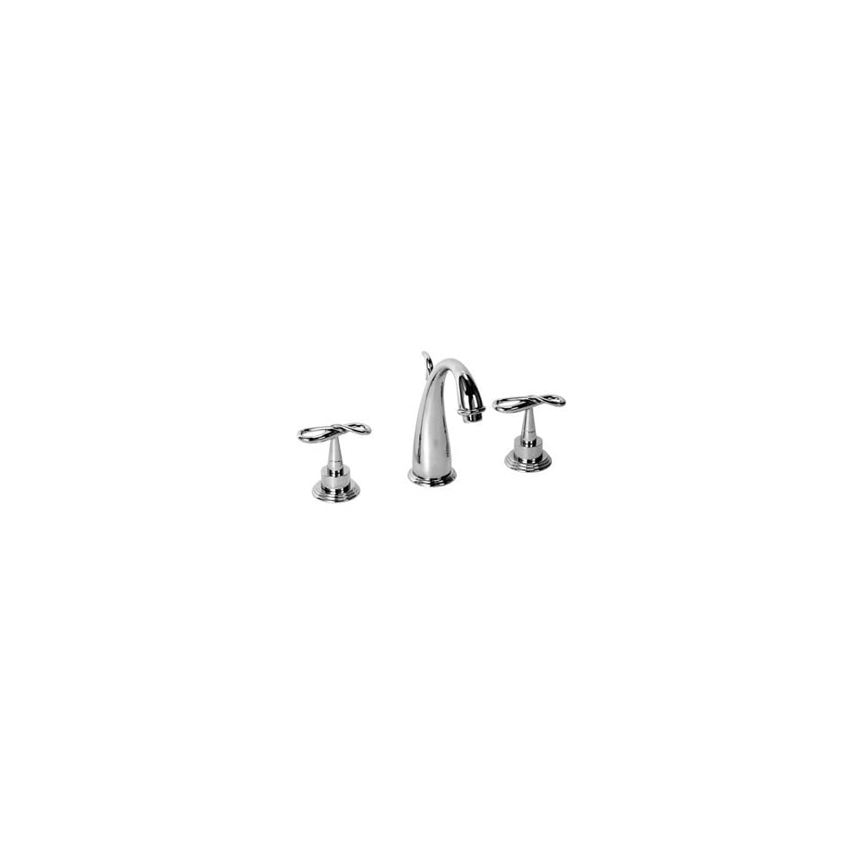 Legacy Brass 4651 Polished Chrome Bathroom Sink Faucets 8 Widespread Lav Faucet