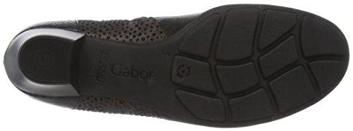 Gabor Shoes Basic, Botines para Mujer Negro (Schwarz micro)