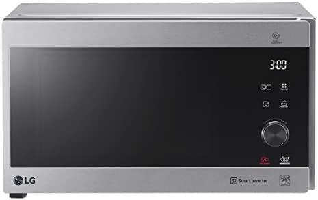 LG MH6565CPS Sobre el rango - Microondas (Sobre el rango, Microondas combinado, 25 L, 1000 W, Tocar, Plata, Acero inoxidable)