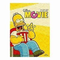 Buffalo Games The Simpsons Movie 1000 Piece Photomosaic Jigsaw Puzzle by Buffalo Gameshttps://amzn.to/2MhMJDK