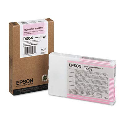 Epson America Inc. Products - Ink Cartridge, 110 ml, Vivid Light Magenta - Sold as 1 EA - Ink cartridge is designed for use with Epson Stylus Pro 4880. UltraChrome -