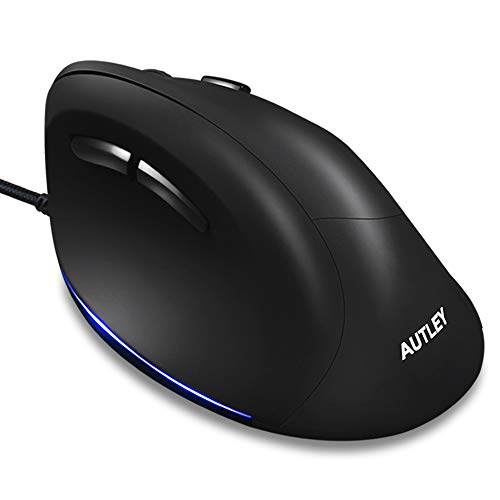 Wired Ergonomic Mouse, AUTLEY Vertical Mouse USB