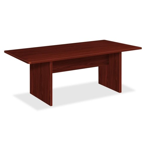BSXBLC72RNN - Basyx by HON Rectangular Conference Table with Slab Base Basyx Rectangular Conference Table