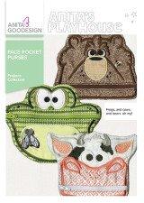 Applique Embroidery Face Design (Anita Goodesign Project PROJ108 Face Pocket Purses)