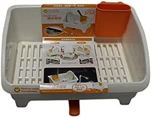 Solution DA10-2 Dishes Holder Plastic, White