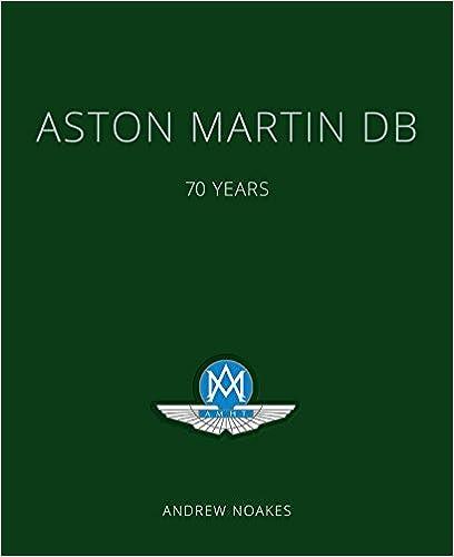Book's Cover of Aston Martin DB: 70 Years (Inglés) Tapa dura – 19 octubre 2017