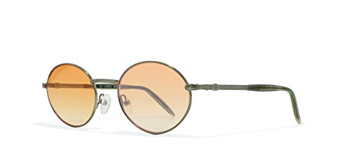 Burberrys B8843 8TD Silver Flat Lens Vintage Sunglasses Round For Mens and - Sunglasses Vintage Burberry