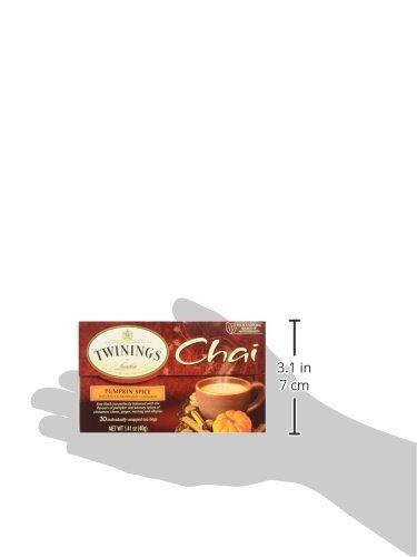 Twinings Pumpkin Spice Chai Tea, 40 Count by Twinings (Image #7)