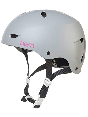 BERN Brighton H2O Helmet Matte Grey L