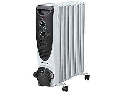 Iso Trade Radiador eléctrico de Aceite Turbo 2900W - 11 Aletas #2841: Amazon.es: Hogar