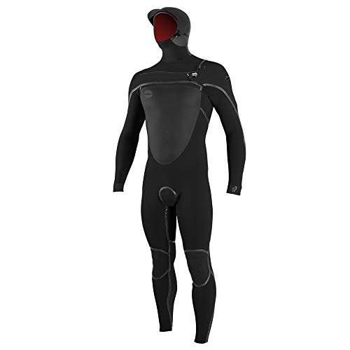 O'Neill PsychoTech Fuze 5.5/4 Hooded Wetsuit - Men's Black/Midnight Oil, L