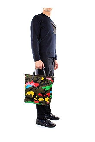 Bolso de Compras Valentino Garavani Hombre Tejido Multicolor IY0B0452NE5A12 Multicolor 14x33x39 cmEU