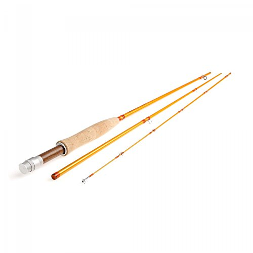 Redington Fly Fishing Fly Fishing Rod 580-3 Butter Stick with Tube 5WT 8' (Piece 3) (5wt 3 Piece)