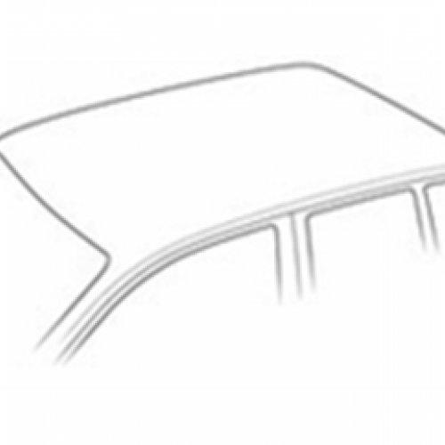 Skoda Fabia //Â 90114017/â Dach 5-t/ürer Schr/ägheck 12-//14/Â um mit normalem Dach MKIII /â/ nicht geeignet f/ür Fahrzeuge mit Glasdach