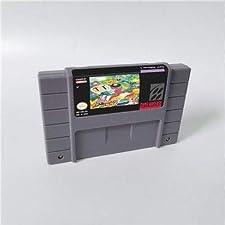 Game card - Game Cartridge 16 Bit SNES , Game Super Bomberman 5 - Action Game Card US Version English Language