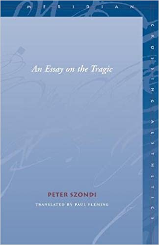 szondi essay on the tragic