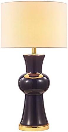 Lámpara de mesa JFHGNJ Lámpara de mesa de porcelana de cerámica ...