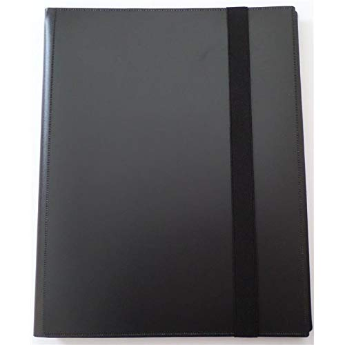 docsmagic de Pro-Player Album Black - 360 Card Binder - Magic The Gathering - Pokemon - Yu-Gi-Oh!