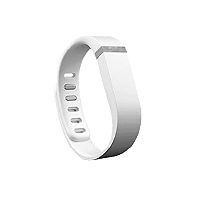 Best_Express Set 1pc Small S Replacement Band with Clasp for Fitbit FLEX Only /No tracker/ Wireless Activity Bracelet Sport Wristband Fit Bit Flex Bracelet Sport Arm Band Armband (White)
