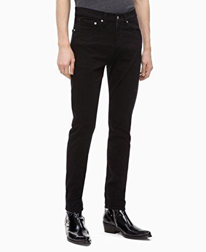 (Calvin Klein Men's CKJ 016 Skinny Fit Jeans, forever black, 31W x 30L)