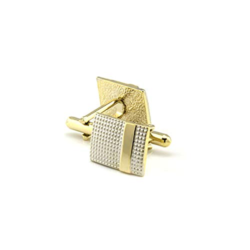 Oldlila 1 pcs Tie Clips Gold Simple Pattern Tie Clips For Men's Business Wedding Clips by Oldlila (Image #7)