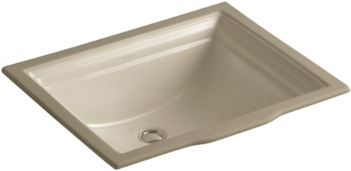 KOHLER K-2339-33 Memoirs Undercounter Bathroom Sink, Mexican Sand 33 Kohler Mexican Sand