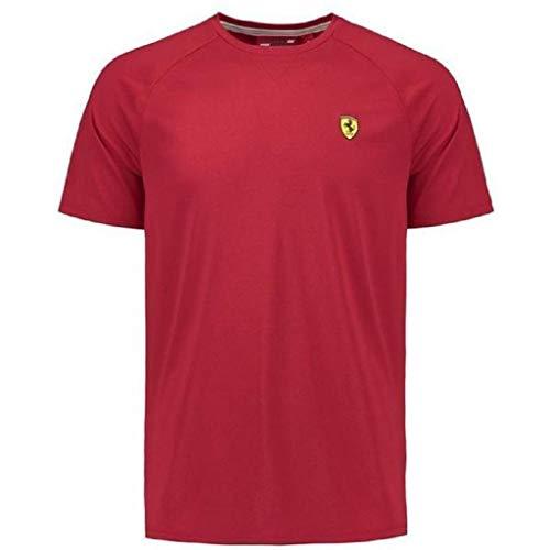 - Scuderia Ferrari Formula 1 Men's Authentic 2018 Red Short Sleeve Midlayer Shirt (2XL)