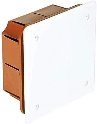 Electraline 60407 - Caja de derivación (para empotrar en obra, 90 ...
