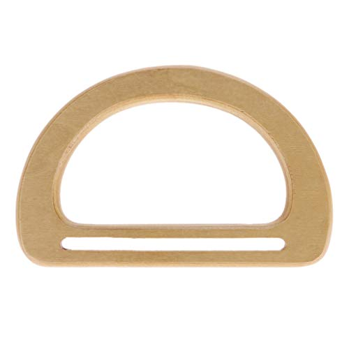 Ronri Solid Wooden Oval Shaped Handles Replacement, used for sale  Delivered anywhere in USA