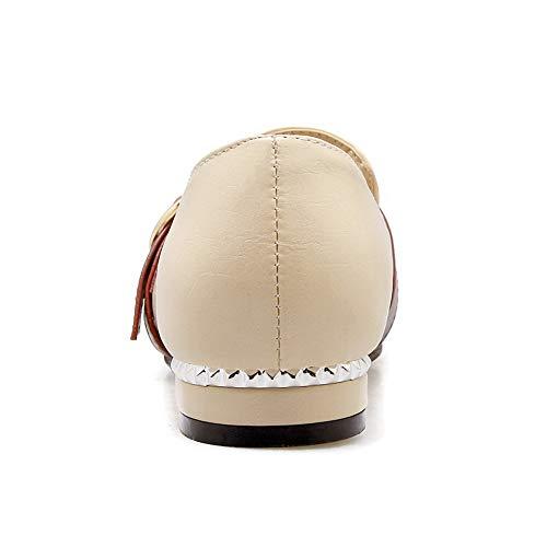 DGU00513 Beige EU Femme Sandales 36 5 Beige AN Compensées fxgdfI