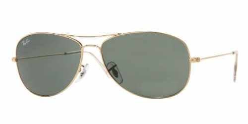 Ray-Ban Cockpit Sunglasses Arista/Crystal Green, One ()