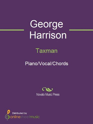Taxman Kindle Edition By George Harrison The Beatles Arts