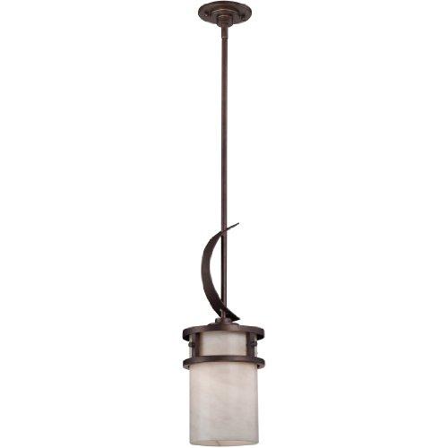Quoizel KY1507IN Kyle Rustic Mini Pendant Lighting, 1-Light, 100 Watts, Iron Gate (20