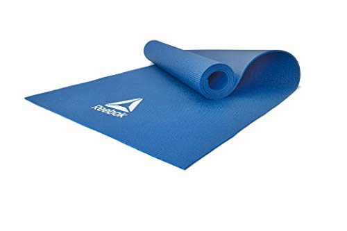 Reebok Yoga Mat - Blue, 4 mm