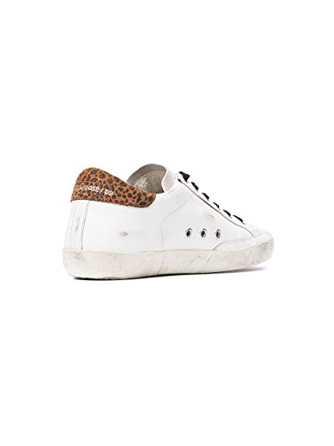 Golden Sneakers GARWS590F1 Donna Goose Bianco Pelle rqT0H