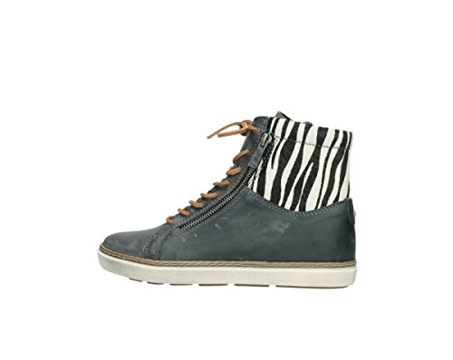 Smog Wolky Comfort Wolky Sneakers Ontario zebraprint 50220 Leather Comfort qxZzF