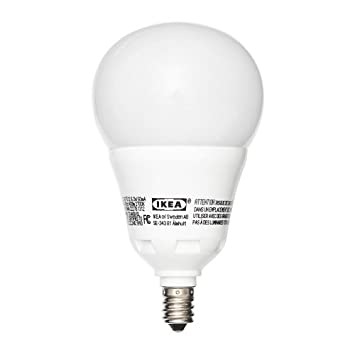 Ikea E12 600 LED Light Bulb 8.6 Watt
