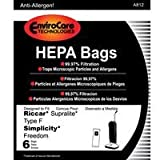 Envirocare riccar/simplicity type F bags for riccar supralite/simplicity freedom, Appliances for Home