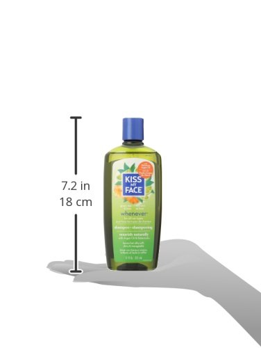 Kiss My Face Whenever Shampoo, Shampoo with Green Tea & Lime, 11 Ounce (Pack of 3) by Kiss My Face (Image #6)