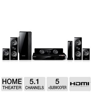 Samsung HT-FM65WC 5.1 Channel 3D Blu-ray Player Special Offers