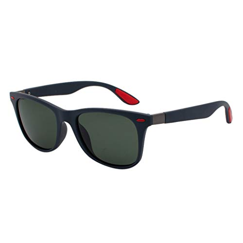 Men And Women Classic Rimmed Eyeglasses Sunglasses Polarized Lens Fashion Eyewear For Unisex Outdoor Sun ()
