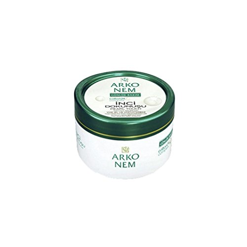 Arko Nem Pearl Touch Face Hand and Body Cream for Daily Use,